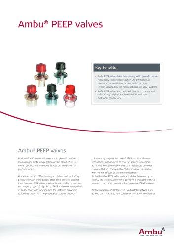 Ambu® PEEP valves