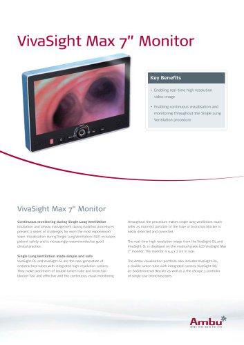 Datasheet VivaSight Max Monitor