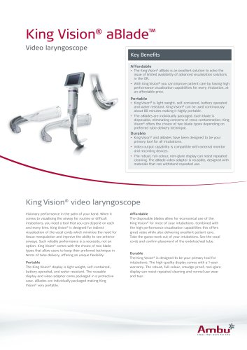 King Vision® aBlade