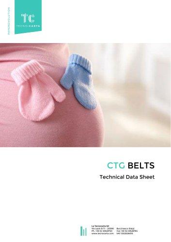 Disposable CTG Belts