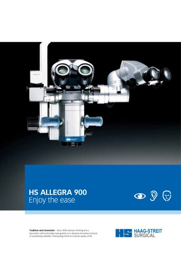 Brochure HS ALLEGRA 900