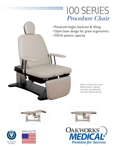 100 Series Procedure Chair