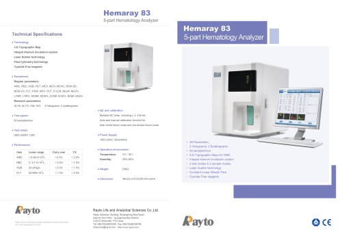 Hemaray 83