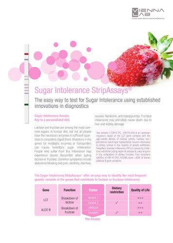 Sugar Intolerance StripAssays®