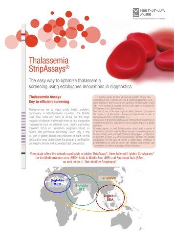 Thalassemia StripAssays®