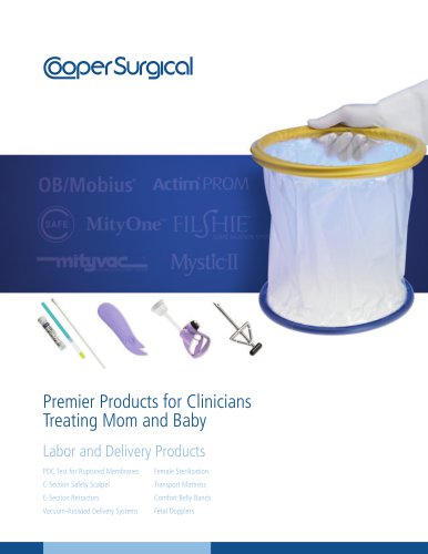 Labor and Delivery Products Catalog