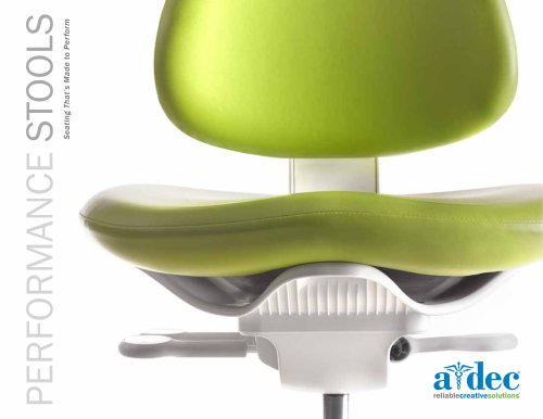 A‑dec Stools Brochure