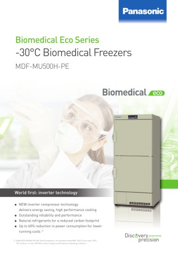 -30°C Biomedical ECO Freezer MDF-MU500H-PE