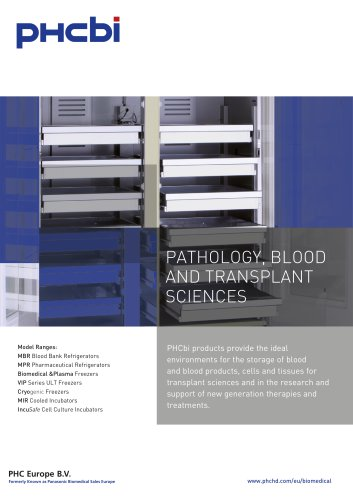 PATHOLOGY, BLOOD AND TRANSPLANT SCIENCES