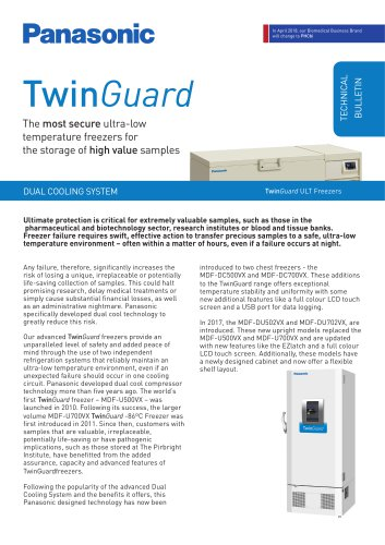 TwinGuard Technical Bulletin - Dual Cooling System