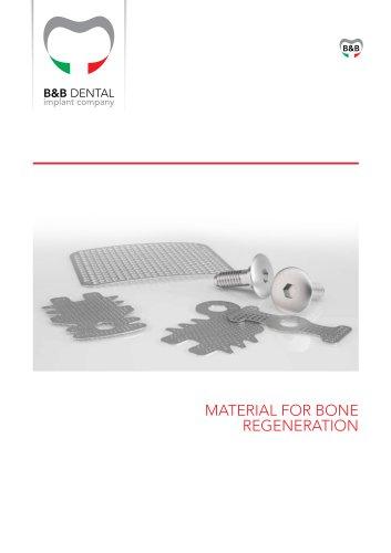 MATERIAL FOR BONE REGENERATION