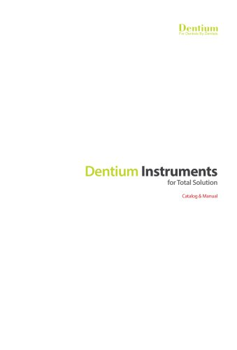 Instrument Catalog