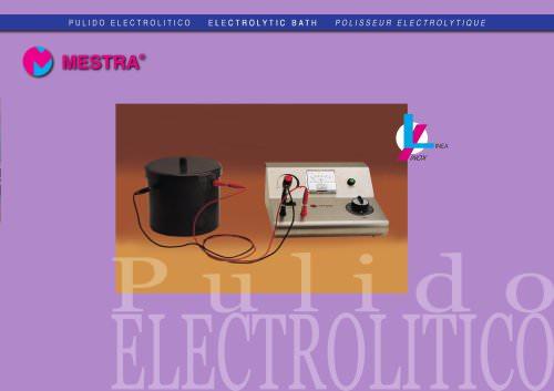 080490 Electrolytic bath