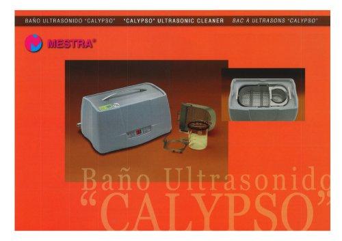 """""""CALYPSO"""" ULTRASONIC CLEANER"""