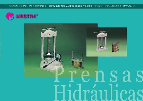 R-030350 HYDRAULIC PRESS