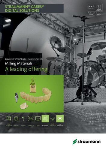 Milling Materials A leading offering
