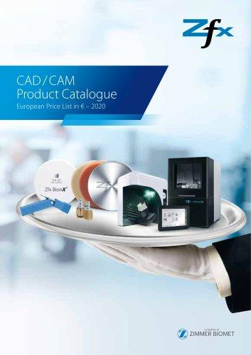 Zfx Product Catalogue CAD/CAM