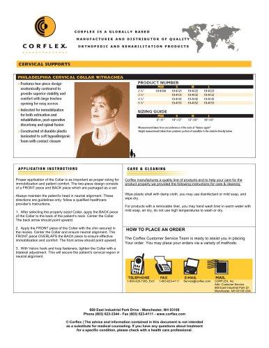 Rigid Cervical Collar w/Trachea