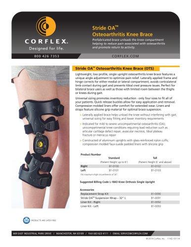 Stride OA™ Osteoarthritis Knee Brace