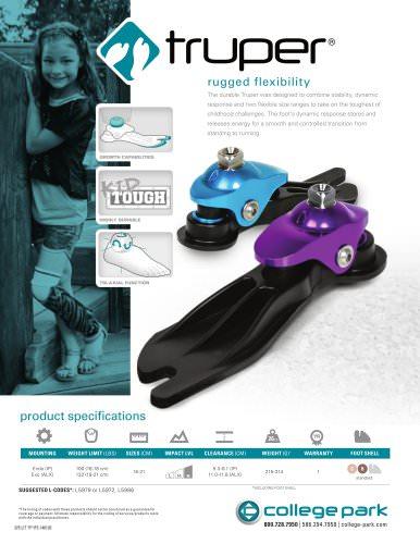 Truper rugged flexibility
