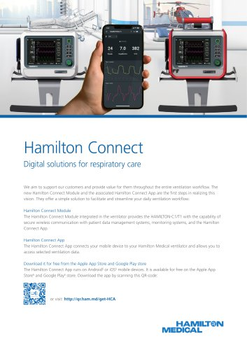 Hamilton Connect brochure