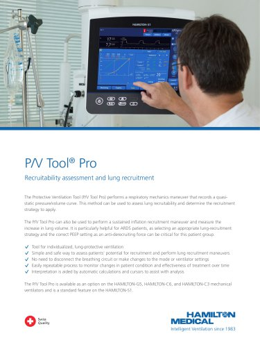 P/V Tool brochure