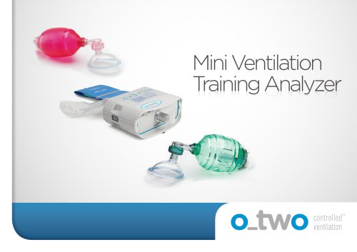 Mini Ventilation Training Analyzer