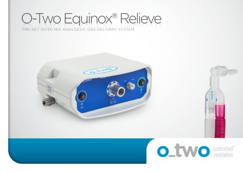 O-Two Equinox® Relieve