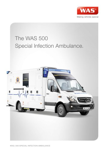 Special Infection WAS 500 Ambulance Mercedes-Benz Sprinter Box Body 5 T