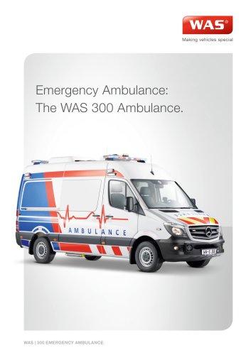 WAS 300 Emergency Ambulance Mercedes-Benz Sprinter Panel Van 3.88 T