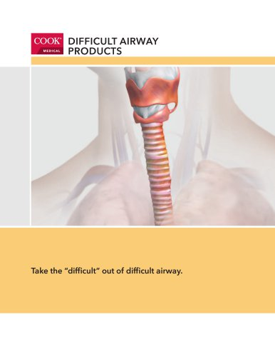 DIFFICULTS AIRWAY PRODUCTS