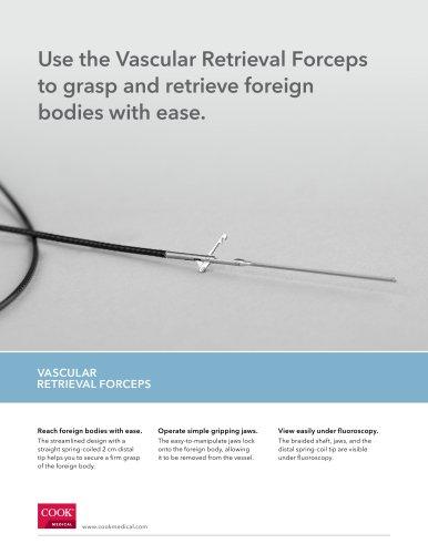 the Vascular Retrieval Forceps