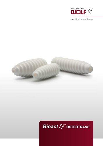 BioactIF OSTEOTRANS Brochure