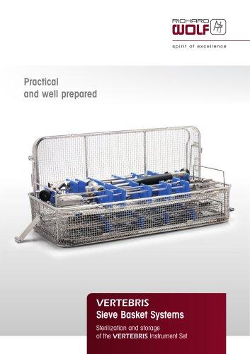 VERTEBRIS Sieve Basket Systems