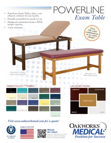 POWERLINE Exam Table