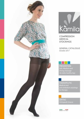 KAMILA Medical Compression Stockings 2017
