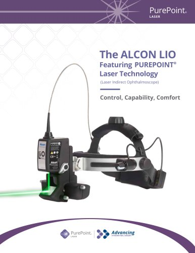 The ALCON LIO Featuring PUREPOINT® Laser Technology