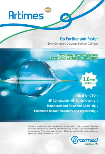 Artimes Semi-Compliant Coronary Balloon Catheter