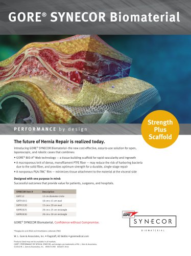 GORE® SYNECOR Biomaterial