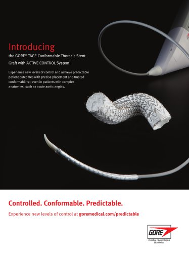 GORE® TAG® Conformable Thoracic Stent Graft