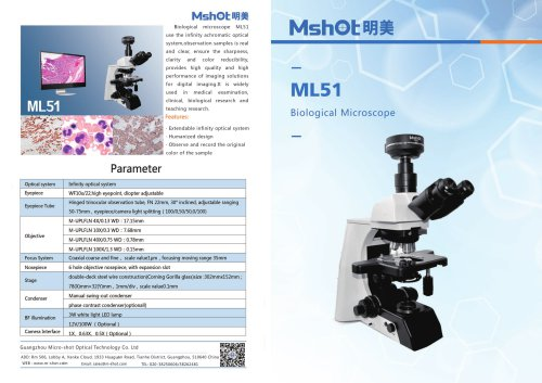 ML51 Biological Microscope