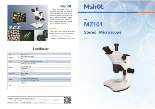 MS60-2 -6.3MP sCMOS camera for microscope