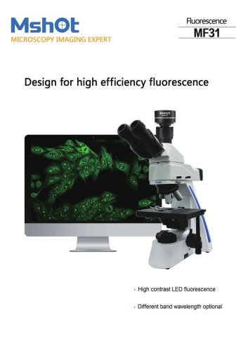 Mshot MF31 LED fluorescence microscope catalogue