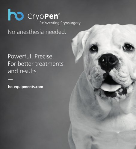 CryoPen - Veterinary Brochure