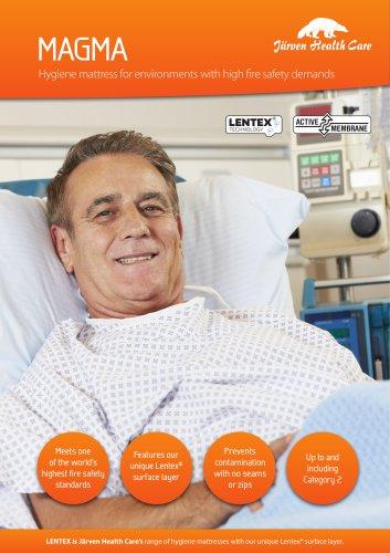 Magma - Hygiene Mattress with Lentex®