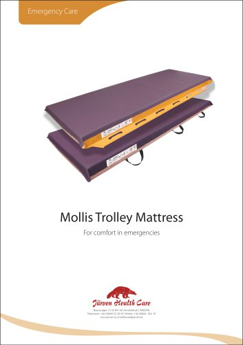 Mollis - Emergency Trolley Mattress