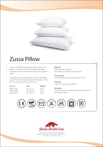 Zussa Pillow