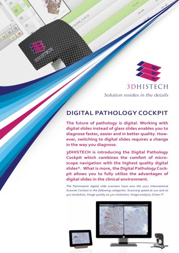 Digital Pathology cockpit