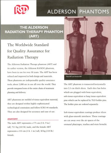 Alderson Radiation Therapy phantom (ART)