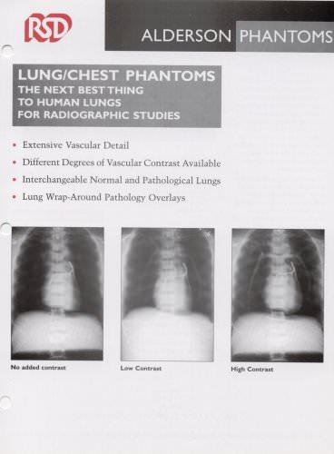 Lung/chest phantom
